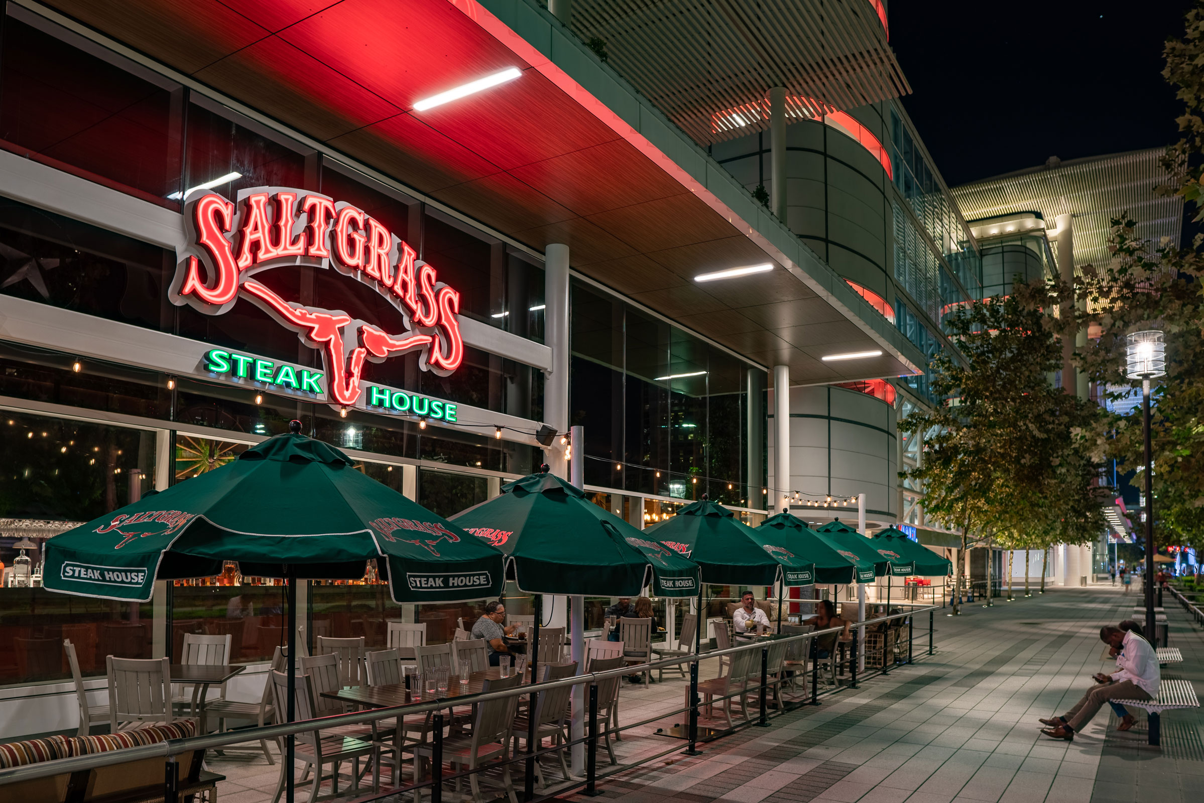 Saltgrass Steakhouse Grb Humble Sign Co